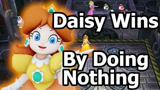 Download Mario Party 9 〇 Daisy Wins by Doing Absolutely Nothing Video
