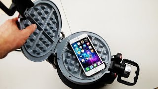 Download iPhone 8 Plus vs Waffle Iron Experiment Video