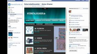 Download Hompage in Facebook iFrame einbinden Teil 1 ( Super Einfach) Video