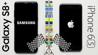 Download Galaxy S8 (2017) vs. iPhone 6S (2015) Speed Test Video