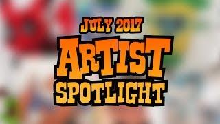Download Artist Spotlight Top 25   July 2017 Video