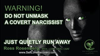 Download When You Unmask a Covert Narcissist, RUN, But Quietly! Counterfeit Relationship. Narcissism Expert Video