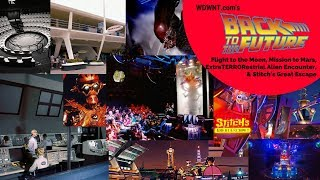 Download Complete History of Alien Encounter, Stitch's Great Escape, Mission to Mars Ride - BTTF Live Video