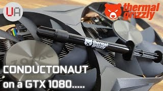 Download Liquid metal on a GTX1080! How much did it help? (Thermal Grizzly Conductonaut - Zotac 1080 mini) Video