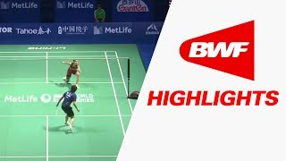 Download Tahoe China Open 2017 | Badminton QF – Highlights Video