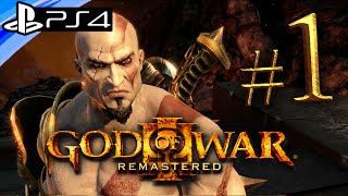 Download God of War 3 PS4 Remastered: Gameplay Walkthrough Part 1 - Live Stream Video