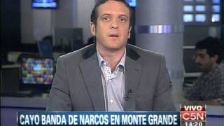 Download C5N - POLICIALES: CAYO BANDA DE NARCOS EN MONTE GRANDE Video
