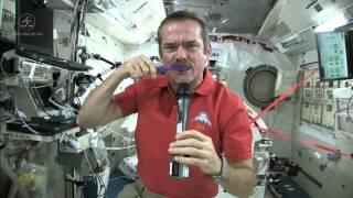 Download Chris Hadfield Brushes his Teeth in Space Video
