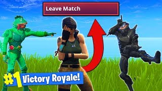 Download THIS TROLL Made Him *RAGE QUIT* In Fortnite Battle Royale! Video