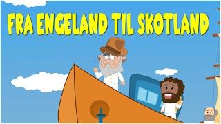 Download Fra Engeland til Skotland | Danske Børnesange | 17 minutter mix med tekst Video
