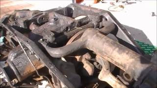 Download Jaguar E type Rear Suspension Rebuild Part 1 Video
