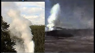 Download Last Blast 7 PM Old Faithful + Giant + Oblong Geyser! Must See! Yellowstone Video