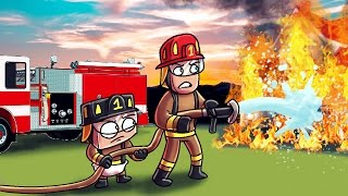 Download Minecraft | Who's Your Daddy? Baby is a Firefighter! (Baby Fireman vs Forest Fire) Video