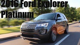 Download Review: 2016 Ford Explorer Platinum Video