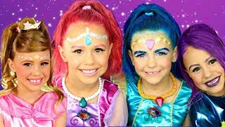 Download Shimmer ane Shine Makeup and Costume Compilation! Shimmer, Shine, Leah, and Zeta! Video