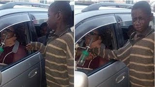 Download Homeless Child Walks To Woman Sitting In Car-But Tears Stream Down His Face After One Look Video