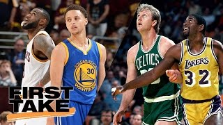 Download Max Compares Celtics-Lakers Rivalry To Cavs-Warriors   Final Take   First Take   May 11, 2017 Video