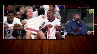 Download Georgetown HC Patrick Ewing on Larry Bird's Trash Talking | The Dan Patrick Show | 3/30/18 Video