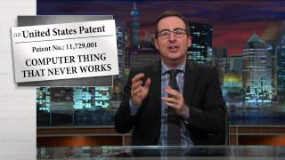 Download Patents: Last Week Tonight with John Oliver (HBO) Video