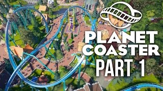 Download Planet Coaster Gameplay Walkthrough Part 1 - BUILDING A DREAM THEME PARK (Challenge) Video