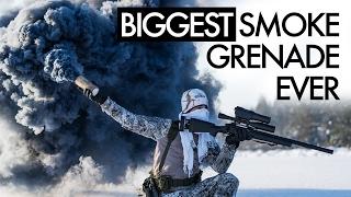 Download Biggest Smoke Grenade Ever - Airsoft Video