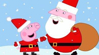Download Peppa Pig Full Episodes 🎄 Santa's Visit 🎄 Cartoons for Children Video