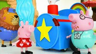 Download Peppa Pig बच्चों के लिए खिलौना चिड़ियाघर पशु सीखना वीडियो! (Hindi) Video