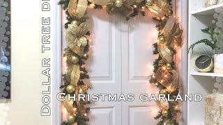Download DIY Dollar Tree Christmas Garland VD#8 Video