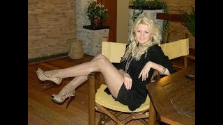 Download Older Women over 40 in High Heels, Mini Dress & Tights Video