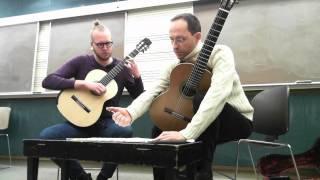 Download Denis Azabagic teaches by Junto al Generalife by J. Rodrigo Video