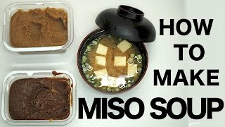 Download How To Make Miso Soup Video