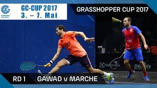 Download Squash: Gawad v Marche - Grasshopper Cup 2017 Rd 1 Highlights Video