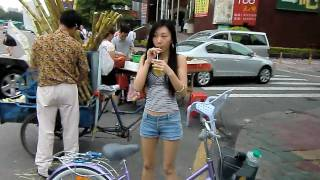Download Beer Girl gets a new bike, and fresh Sugar Cane juice Video