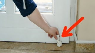 Download Put A Bundle Of Lemon Peels Behind The Door. It Works Wonders! Video
