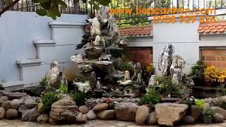 Download Hòn Non Bộ Tuyệt Đẹp Nhà Chú Hưng Q2 HCM - LH Thi Công Lương Hiếu Hạnh 0908 929 626 Video