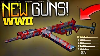 Download COD: WW2 - DLC GUNS LEAKED! (x14 NEW WEAPONS) Video
