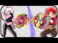 Download Xcalius X2 VS Spryzen S2 |Beyblade Burst Battle| Xander VS Shu Video