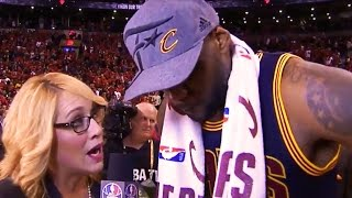 Download LeBron Gets Emotional with 6th Consecutive Trip to the Finals Video