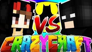 Download JOKER VS CATWOMAN (BATMAN SUPER VILLAIN BATTLE) - MINECRAFT CRAZY CRAFT 2 #7 Video