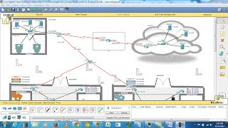 Download Enterprise Network Design in CISCO Packet Tracer (6.1.1) Video