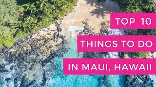 Download Top 10 Things To Do In Maui Hawaii Video