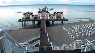 Download The fairytale pier in Sellin Video