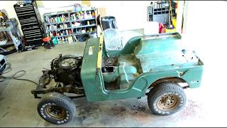 Download 10 minute Time lapse 1976 Jeep CJ5 Resortaion Video