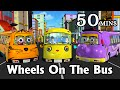 Download Wheels On The Bus Go Round And Round - 3D Animation Kids' Songs | Nursery Rhymes for Children Video
