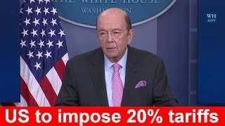 Download Wilbur Ross: Donald Trump Plans Impose Tariff Imports of Canadian Softwood Lumber Dumping Product Video