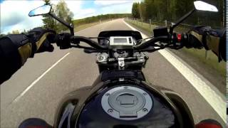 Download Yamaha Fz1 Turbo with 315hp on the highway Top speed Video