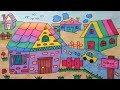 Download How to draw and color house , village for kid สอนวาดระบายสีบ้าน วาดหมู่บ้าน การ์ตูนสำหรับเด็ก l Video