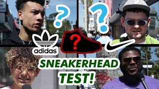 Download CAN THESE ″SNEAKERHEADS″ PASS THIS SNEAKER TEST? Fairfax, Los Angeles // Fung Bros Video