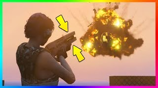 Download HOW TO GET THE RAILGUN, STUNGUN & UNLIMITED FIREWORKS FOR FREE IN GTA ONLINE! (GTA 5 PS4) Video