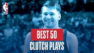 Download NBA's Best 50 Clutch Plays   2018-19 NBA Regular Season Video